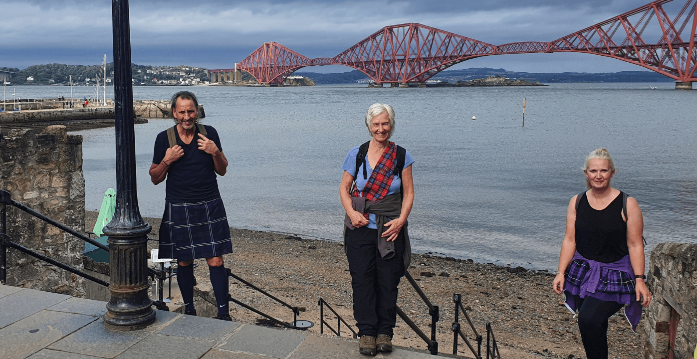 Virtual Kiltwalk ForthBridge